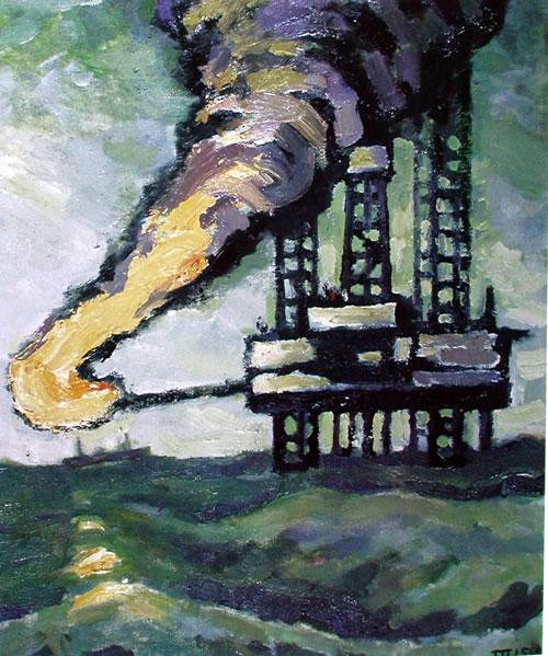 南海油画风景图片大全