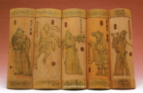竹刻艺术品数百年来一直是中国人嗜喜之物,原来还有这个道理!