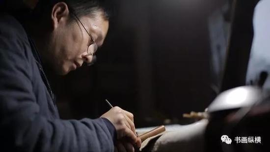 淳安堂执著者 李小平和他的毛笔情缘