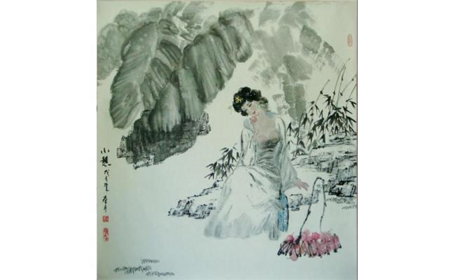 岭南芭蕉树图片手绘