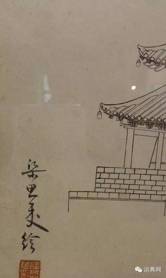 梁思成古建筑手绘图 精致详细令人惊叹