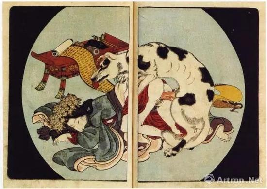 梵高也曾将浮世绘融入到自己的作品中